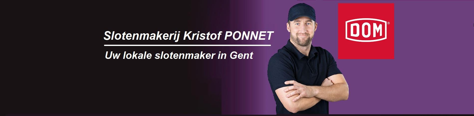 Gent Slotenmaker Kristof Ponnet