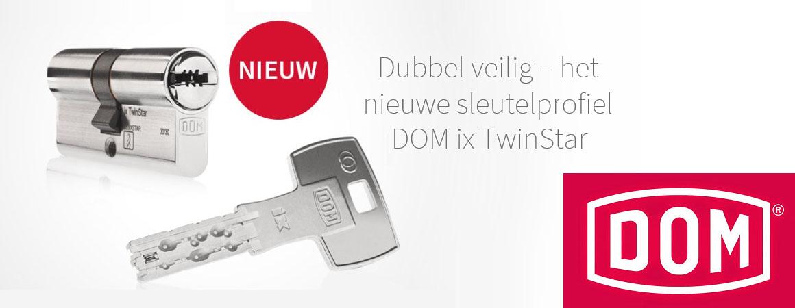 DOM ix Twinstar SKG*** veiligheidsslot